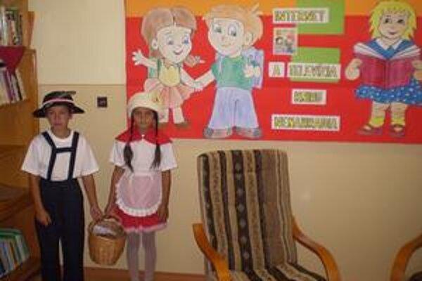Ako z rozprávky. Janko a Marienka z tretieho ročníka.