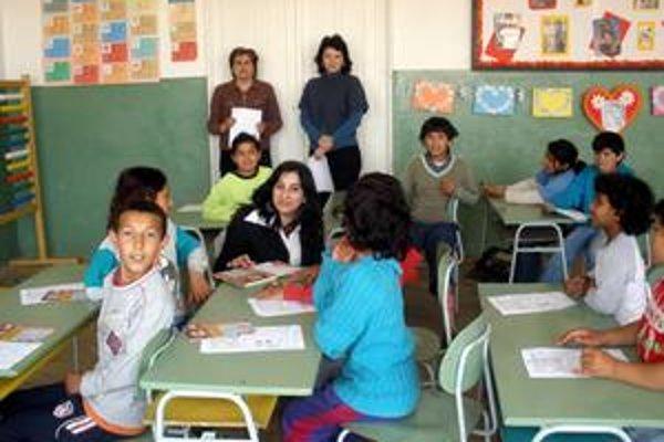 Poučenie. Školákom vysvetľovali o dôležitosti hygieny.