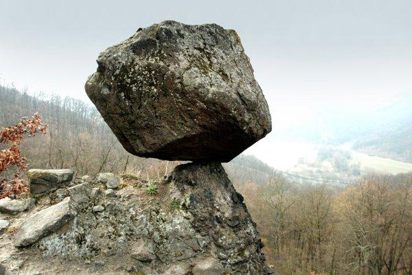 Čertova skala pri Budči.