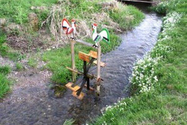Vo Vyšehradnom bude možné vidieť aj umelecké vodné mlynčeky.