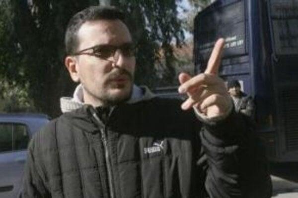 Na archívnej snímke z 30. januára 2008 je zavraždený grécky novinár Sokratis Jolas.