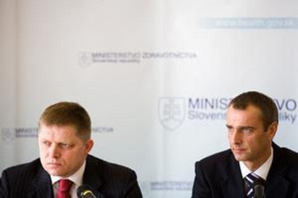 Minister zdravotníctva Raši a premiér Fico.