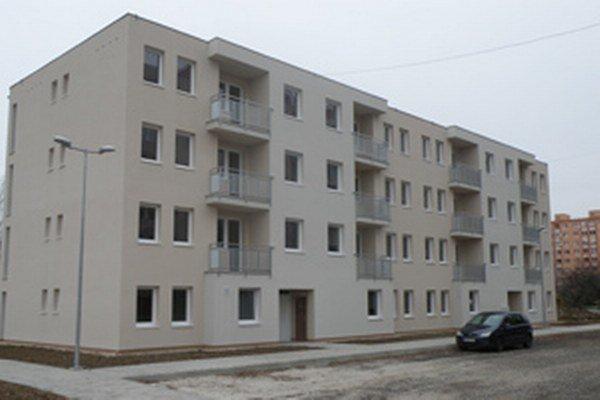 Nájomné byty na Gazdovskej ulici v Prievidzi.