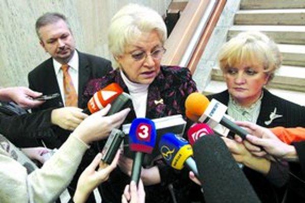 Ministerka práce Tomanová súhlasí s názorom šéfa Sociálnej poisťovne Bernátka, že z úspor v druhom pilieri sa majú v každom prípade vyplácať iba dôchodky.