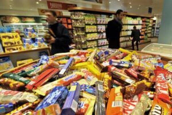 Infláciu potiahli najmä rastúce ceny potravín.