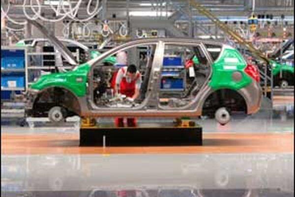 Za rekordnými prírastkami v ekonomike je najmä produkcia automobiliek.