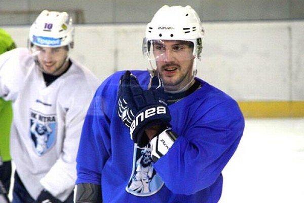 Henrich Ručkay na štvrtkovom dopoludňajšom tréningu.