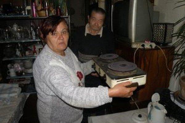 Gašparovcom slúži dvojplatnička na vyhrievanie bytu.