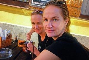 S mojou sestrou Saškou.