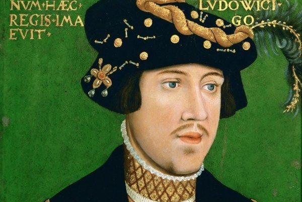 Uhorský kráľ Ľudovít II. Jagelovský ( 1516 – 1526).