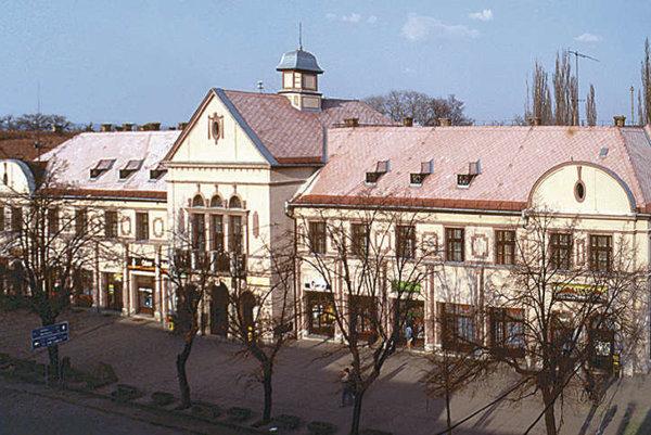 Mestský úrad v Tornali.
