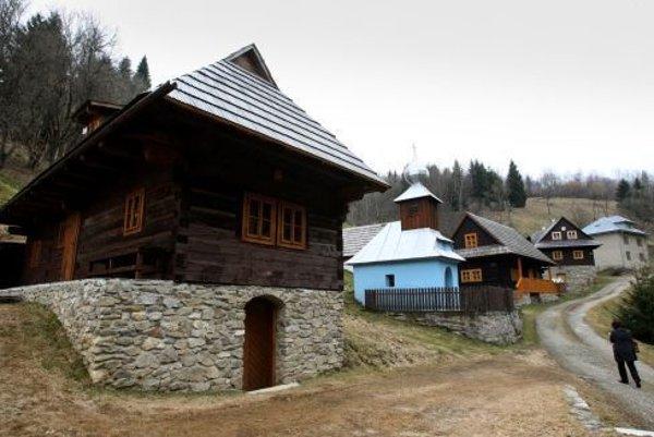 Súčasťou Drábska je aj pôvabná obec Kysuca.