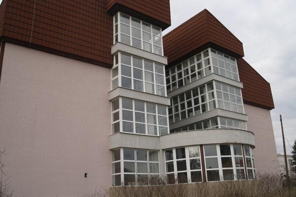Rozostavaný pavilón rimavskosobotskej nemocnice.