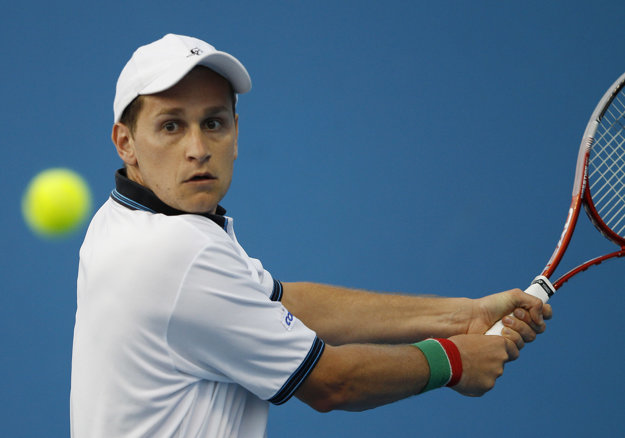Karol Beck na Australian Open v roku 2012.