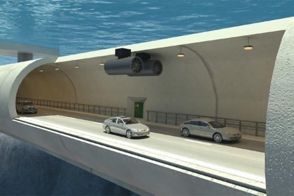 Nóri uvažujú nad stavbou plávajúcich tunelov