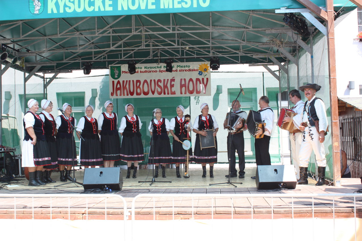bb184d989 Jakubovské hody sú bezpochyby najočakávanejším letným podujatím v Kysuckom  Novom Meste.