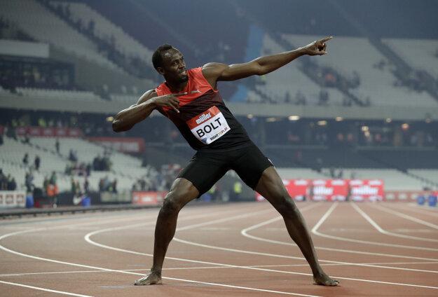 Usain Bolt potvrdil svoju pripravenosť na mítingu Diamantovej ligy v Londýne.