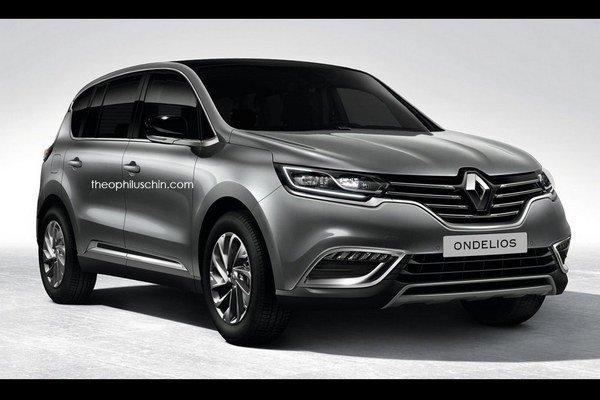 Takto si predstavujú vzhľad nového SUV Renault automobilový manipulátori servera Theophiluschin.