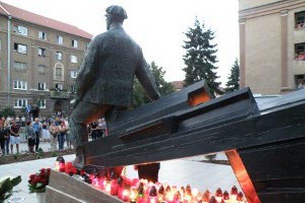 V sobotu bude miestom pietnej spomienky Pamätník baníkom.