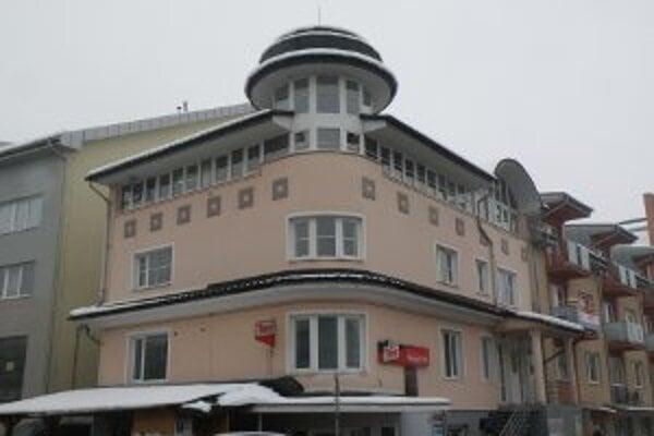 Sídlo mestskej spoločnosti Unipa Prievidza.