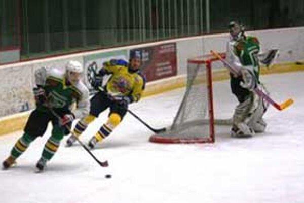 Prešovčanom hokejisti Prievidze nedali ani jeden gól.