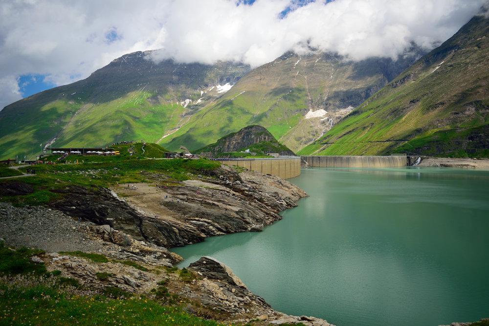 Stausee Mooserboden, Hohen Tauern, Alpy 3
