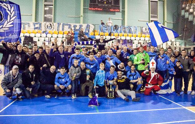 Pred rokom sa z piateho triumfu v histórii elitnej fázy tešili futbalisti FC Nitra, a to spolu so svojimi vernými fanúšikmi.