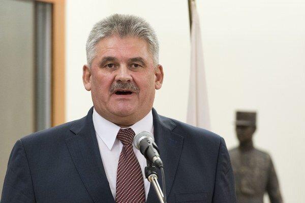 Minister práce Ján Richter (Smer-SD).
