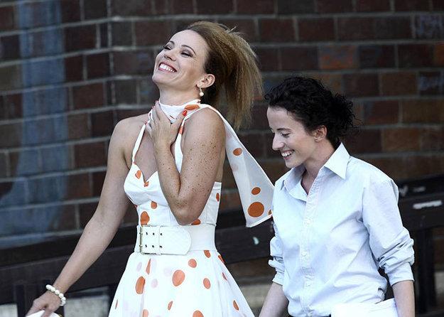 V snímke Tigre v meste (2012) s Dianou Mórovou.
