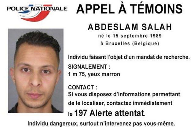 Spolupáchateľ útokov Abdeslam Salah.