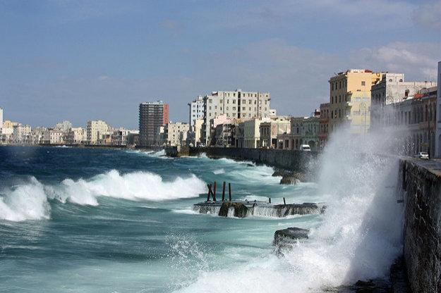 Havanský Malecón.