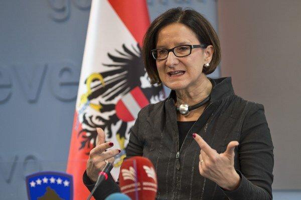 Johanna Miklová-Leitnerová.