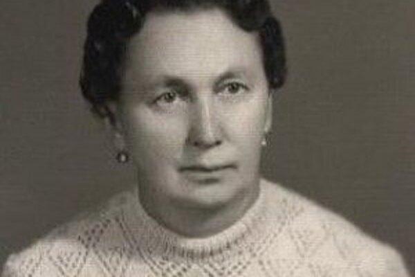 Nezvestná Helena Svačeková.