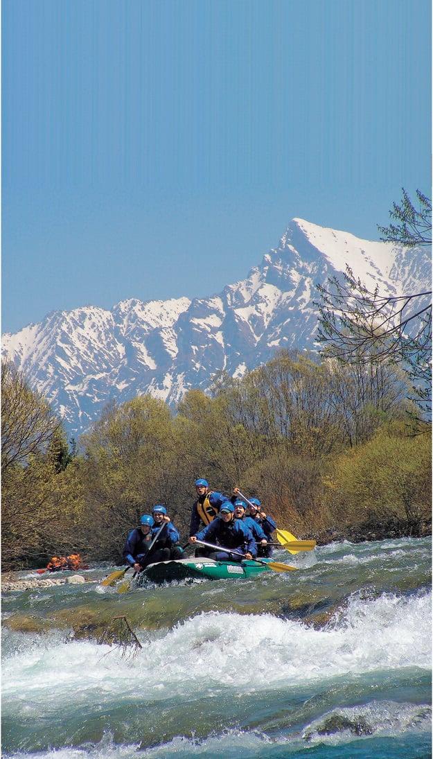 Rafting na rieke Belá