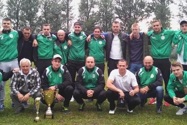FK Strečno - víťaz turnaja v Nezbudskej Lúčke.