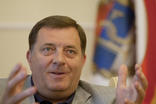 Rrezident Republiky Srbskej Milorad Dodik.