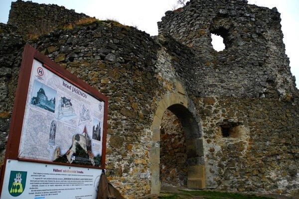 Jasenovský hrad.