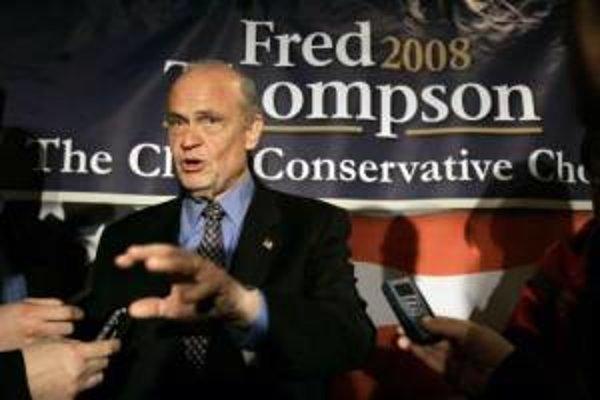 Fred Thompson už nie je prezidentským kandidátom