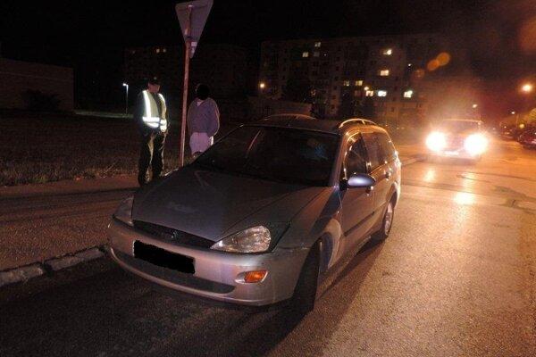 Vodič sa podrobil skúške na alkohol s pozitívnym výsledkom.