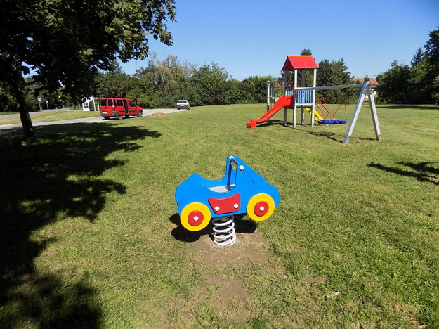 Detské ihrisko pri Bani