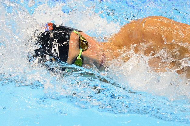 Richard Nagy absolvoval v Riu de Janeiro dve bazénové disciplíny. Teraz si zapláva aj v oceáne.