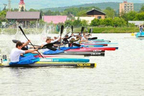 Trať na nováckom jazere patrí medzi najlepšie na Slovensku.