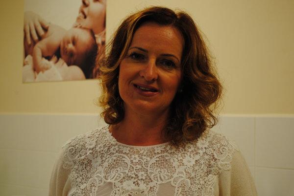 Dana Miňová, riaditeľka pre ľudské zdroje Sveta zdravia.