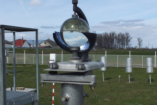Meteorologická stanica Milhostov.