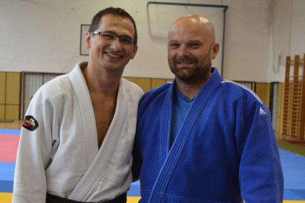 Jozef Krnáč s Michalom Bokorom.