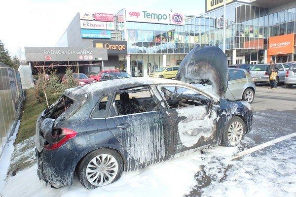 Hasenie auta z okresu Malacky trvalo pol hodiny.