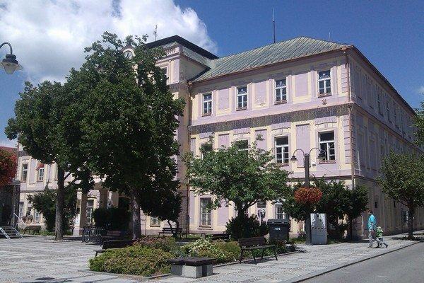 Župný dom v centre Liptovského Mikuláša.