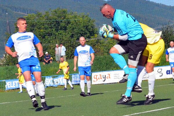 Brankár Veselovský sa nedostatok práce sťažovať nemohol. Dostal síce dva góly, no minimálne ďalším štyrom zabránil.