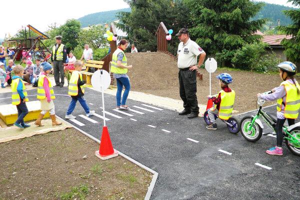 Otvorenie nového dopravného ihriska.