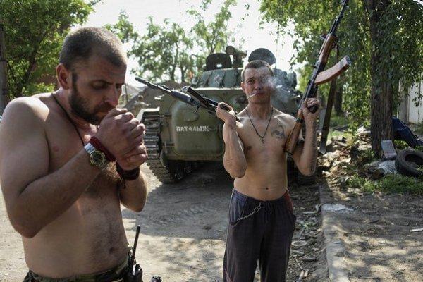 Kontrola hraníc má zastaviť proruských separatistov.